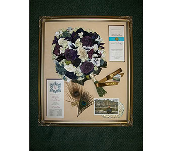 20x24 Domed Frame in Middletown DE, Forget Me Not Florist & Flower Preservation