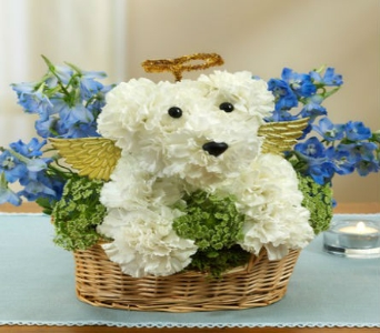 All Dogs go to Heaven in Casper WY, Keefe's Flowers