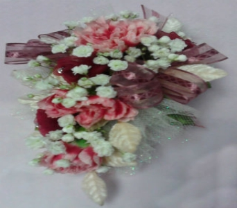 Pink Carnation Corsage in Milford OH, Jay's Florist