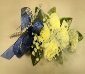 White Carnation Corsage in Milford OH, Jay's Florist
