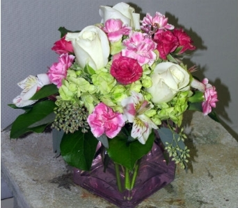 Blooms For Hope Cube in Traverse City MI, Teboe Florist