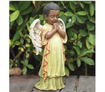 Praying Angel in Warren MI, Downing's Flowers & Gifts Inc.