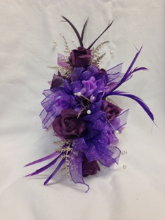 Purple Splendor Corsage in Lake Charles LA, A Daisy A Day Flowers & Gifts, Inc.