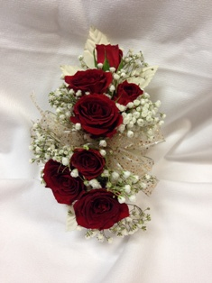 Red Rose Corsage in Lake Charles LA, A Daisy A Day Flowers & Gifts, Inc.