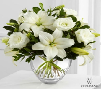 The FTD� White Elegance� Bouquet by Vera Wang  in Arizona, AZ, Fresh Bloomers Flowers & Gifts, Inc
