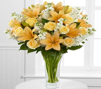 Admiration Luxury Rose & Lily Bouquet in Arizona, AZ, Fresh Bloomers Flowers & Gifts, Inc