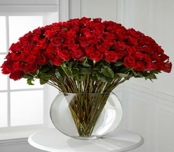 Breathless Rose Bouquet - 100 Stems of 24-i in Arizona, AZ, Fresh Bloomers Flowers & Gifts, Inc