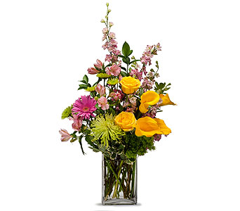 Cheerful in Placentia CA, Expressions Florist