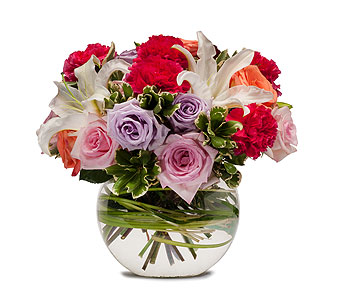 Potpourri of Roses in Green Bay WI, Enchanted Florist