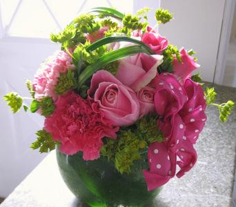 Think Pink Bouquet - Think Pink Campaign in Norwalk CT, Bruce's Flowers & Greenhouses