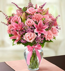 Expressions of Pink Bouquet  in Lemont IL, Royal Petals