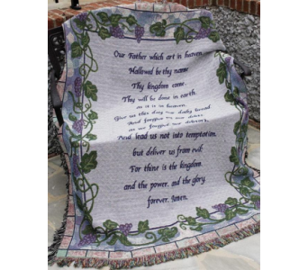 The Lord's Prayer in Amelia OH, Amelia Florist Wine & Gift Shop