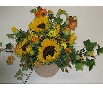 Fall Arrangement in Blue Bell PA, Country Flower Shoppe