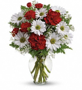 Kindest Heart Bouquet in Santa Claus IN, Evergreen Flowers & Decor