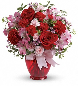 Teleflora's Blissfully Yours Bouquet in Calgary AB, All Flowers and Gifts