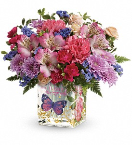 Teleflora's Enchanted Garden Bouquet in Tustin CA, Saddleback Flower Shop