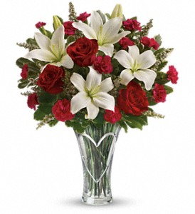 Teleflora's Heartfelt Bouquet in New York NY, Solim Flower