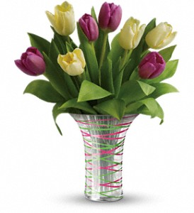 Teleflora's Singing Of Spring Bouquet in Tyler TX, Country Florist & Gifts