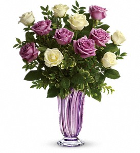 Teleflora's Wrapped In Lavender Bouquet in Miami Beach FL, Abbott Florist