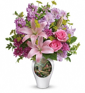 Thomas Kinkade's Glorious Goodness by Teleflora in Palos Heights IL, Chalet Florist