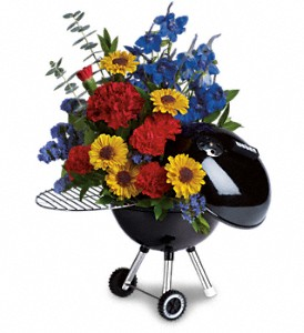 Weber Hot Off The Grill by Teleflora in Metairie LA, Villere's Florist