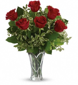 You Have My Heart Bouquet by Teleflora in Crown Point IN, Debbie's Designs