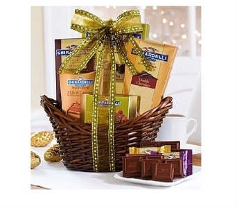 Best of Ghirardelli Basket  in Bayside NY, Bell Bay Florist