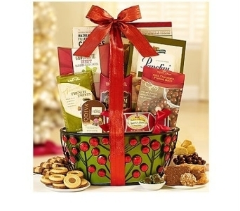 All That Glitters Gourmet Gift Basket in Bayside NY, Bell Bay Florist