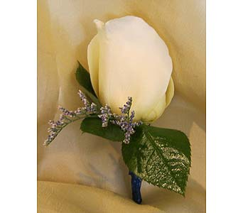White Rose Bout with Lavender Accent in Wake Forest NC, Wake Forest Florist