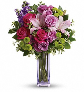 Teleflora's Fresh Flourish Bouquet in Lemont IL, Royal Petals