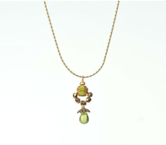 Cathedral Woodsprite Necklace in Traverse City MI, Teboe Florist