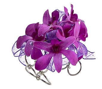 Dendrobium Orchid Wristlet in Oklahoma City OK, Trochta's