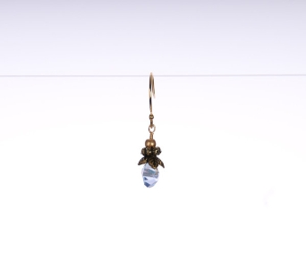 Faceted Crystal Woodsprite Earring - Air Blue in Traverse City MI, Teboe Florist