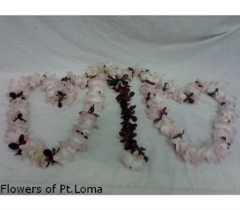 Wedding Lazo in San Diego CA, Flowers Of Point Loma