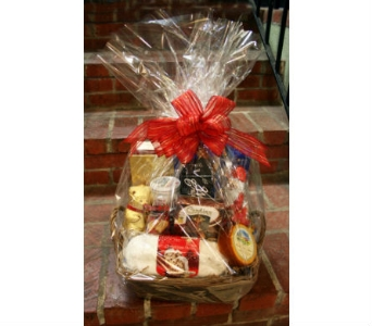 Gourmet Holiday Basket in Yardley PA, Ye Olde Yardley Florist