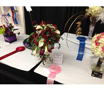 Alysha 4th Place - 2013 NC State Fair in Wake Forest NC, Wake Forest Florist