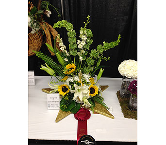 Julie 2nd Place - 2013 NC State Fair in Wake Forest NC, Wake Forest Florist