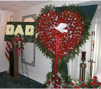 Dad - Bleeding Heart in Manalapan NJ, Vanity Florist II