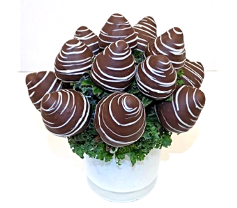 Chocolate Delight Berry Bouquet in Timmins ON, Timmins Flower Shop Inc.