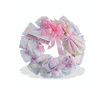 Baby Girl Wreath in St. Louis MO, Walter Knoll Florist