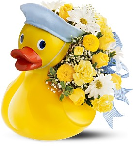 Teleflora's Just Ducky Bouquet - Boy in Potsdam NY, Bailey's Canton-Potsdam Florist