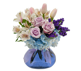 Soft Romance in Gillette WY, Forget Me Not Floral & Gift
