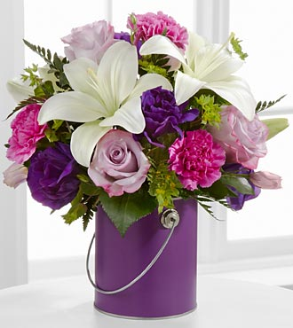 The Color Your Day With Beauty� Bouquet  in Chicago IL, Yera's Lake View Florist