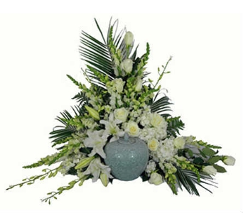 Simple Devotion Cremation Setting Deluxe in Indianapolis IN, Steve's Flowers & Gifts