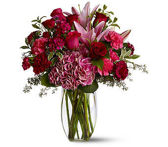 Burgundy Blush in Clearwater FL, Hassell Florist