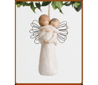 Angel's Embrace Ornament in Philadelphia MS, Flowers From The Heart