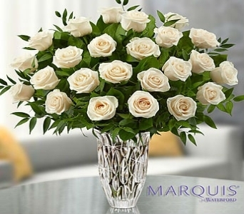 Marquis by Waterford� Premium White Roses in El Cajon CA, Conroy's