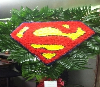 Superman in Staten Island NY, Evergreen Florist