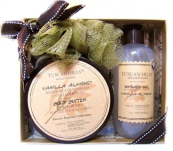 Tuscan Hills Gift Spa Bag Set in Columbus OH, OSUFLOWERS .COM