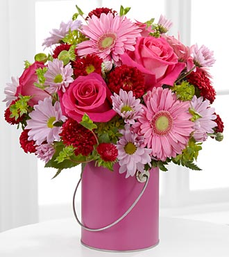 The Color Your Day With Happiness� Bouquet in Chicago IL, Yera's Lake View Florist